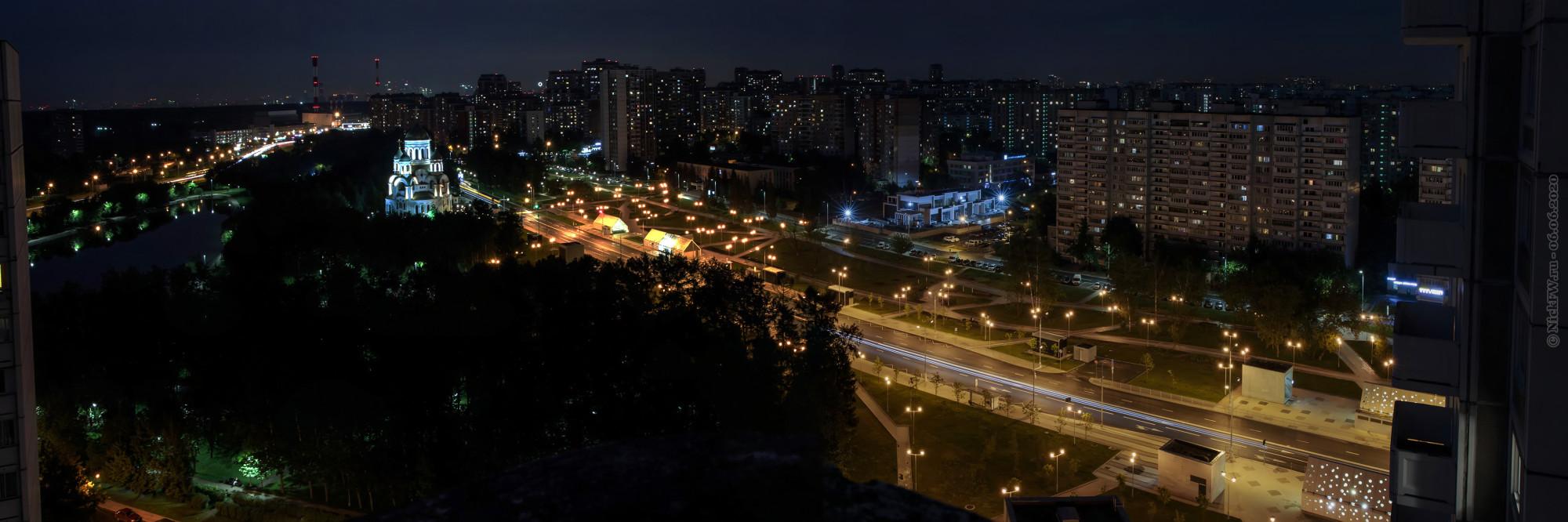 3. Панорама Солнцево (4 кадра) © NickFW.ru — 06.06.2021г.