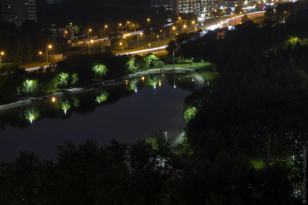 5. Большой Солнцевский пруд и Боровское шоссе © NickFW.ru — 06.06.2021г.