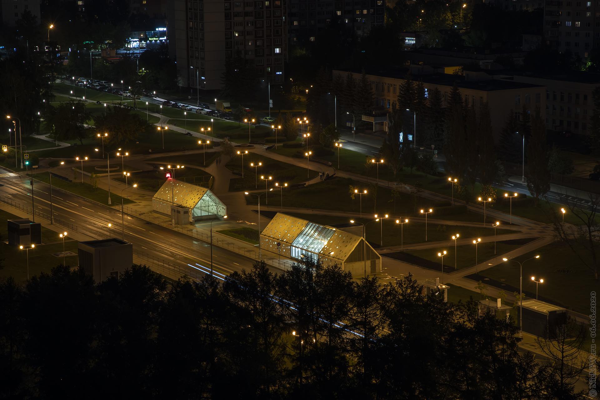7. Станция метро Солнцево выходы 3 и 4 © NickFW.ru — 06.06.2021г.
