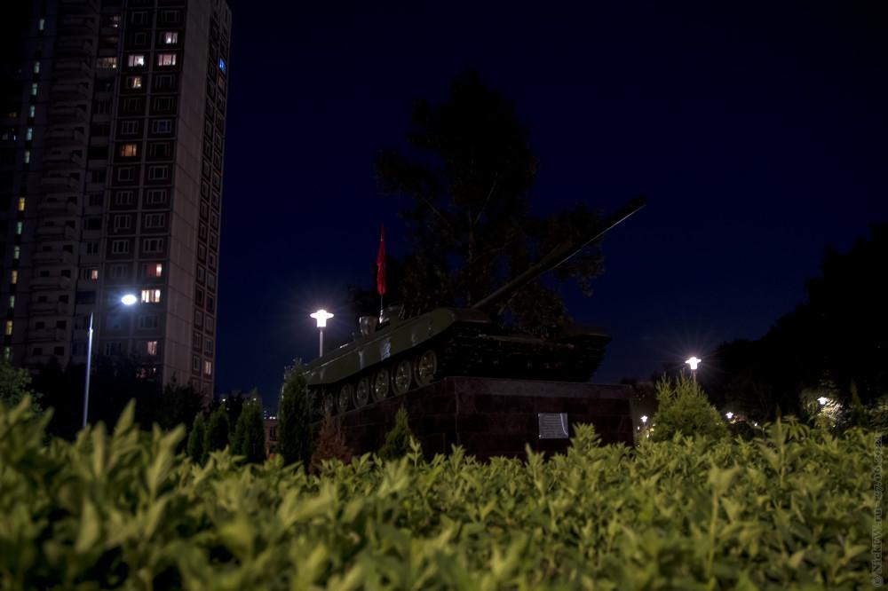 4. Т-72А на постаменте в Солнцево © NickFW.ru — 27.06.2021г.