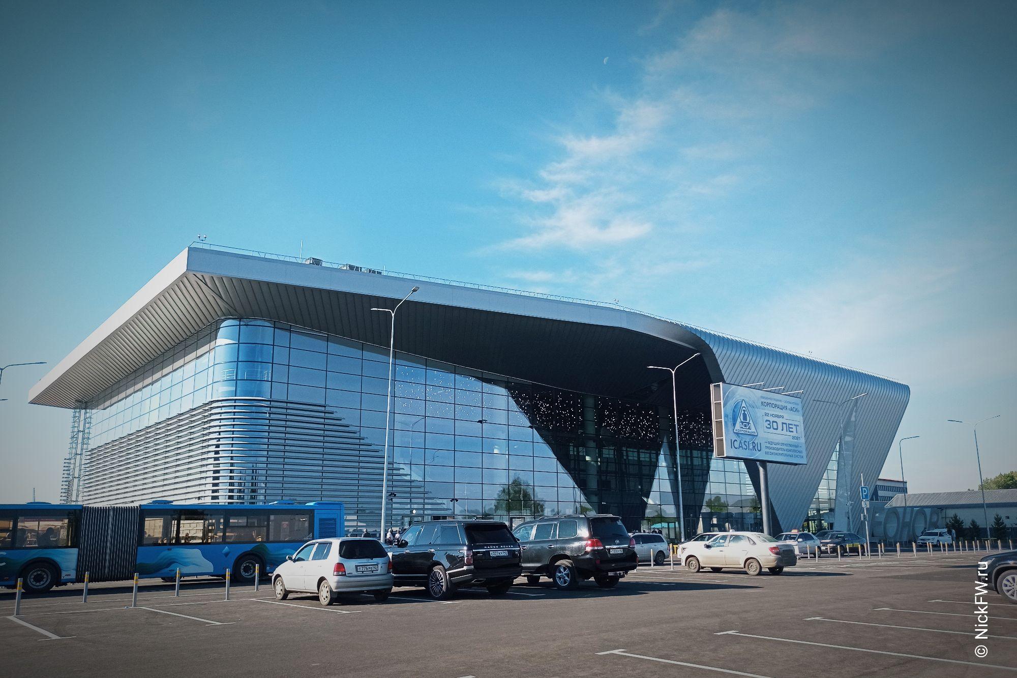 Новый терминал аэропорта Кемерово © NickFW.ru - 02.07.2021г.