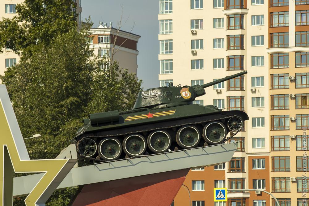 1. Т-34-76 в Кемерово © NickFW.ru — 05.07.2021г.