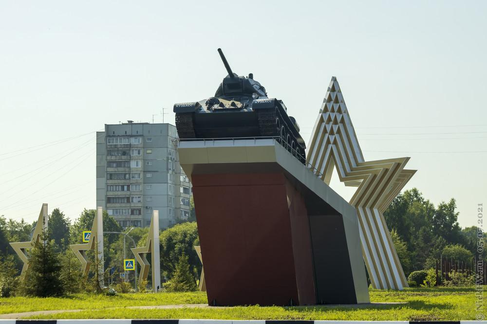 2. Т-34-76 в Кемерово © NickFW.ru — 05.07.2021г.