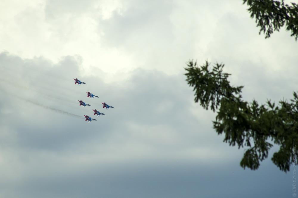 4. Стрижи над Кемерово © NickFW.ru — 09.07.2021г.