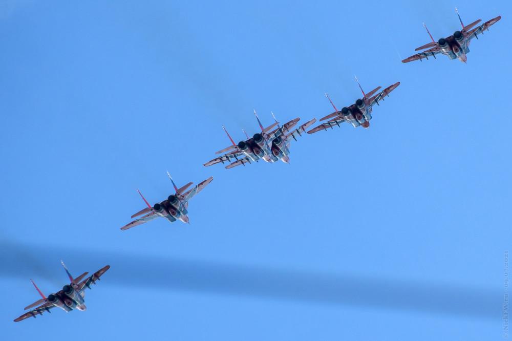6. Стрижи над Кемерово © NickFW.ru — 09.07.2021г.