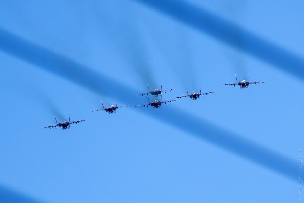 9. Стрижи над Кемерово © NickFW.ru — 09.07.2021г.