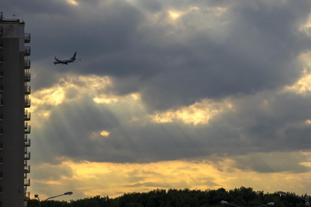 Пейзаж с Победой и небом... © NickFW.ru — 26.07.2021г.