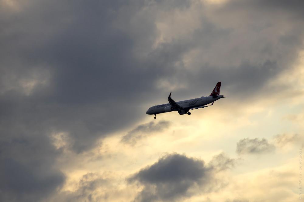 1. AIRBUS A321NEO — TC-LTA © NickFW.ru — 26.07.2021г.