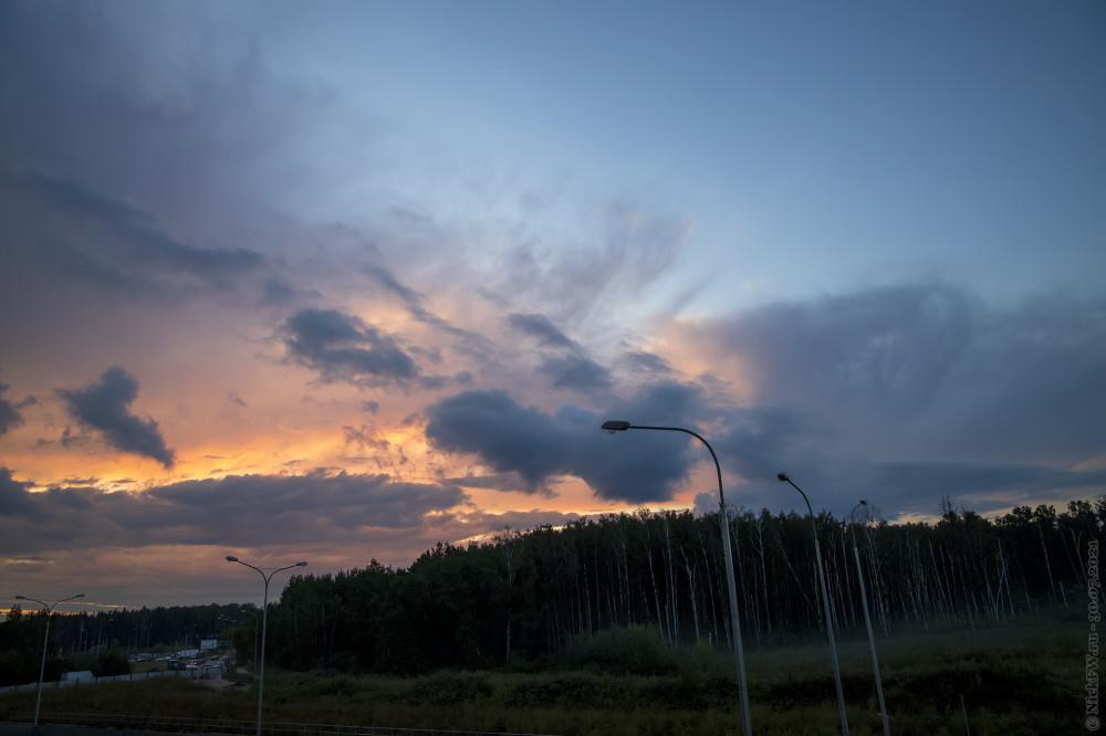 2. Закат в Московском © NickFW.ru — 30.07.2021г.