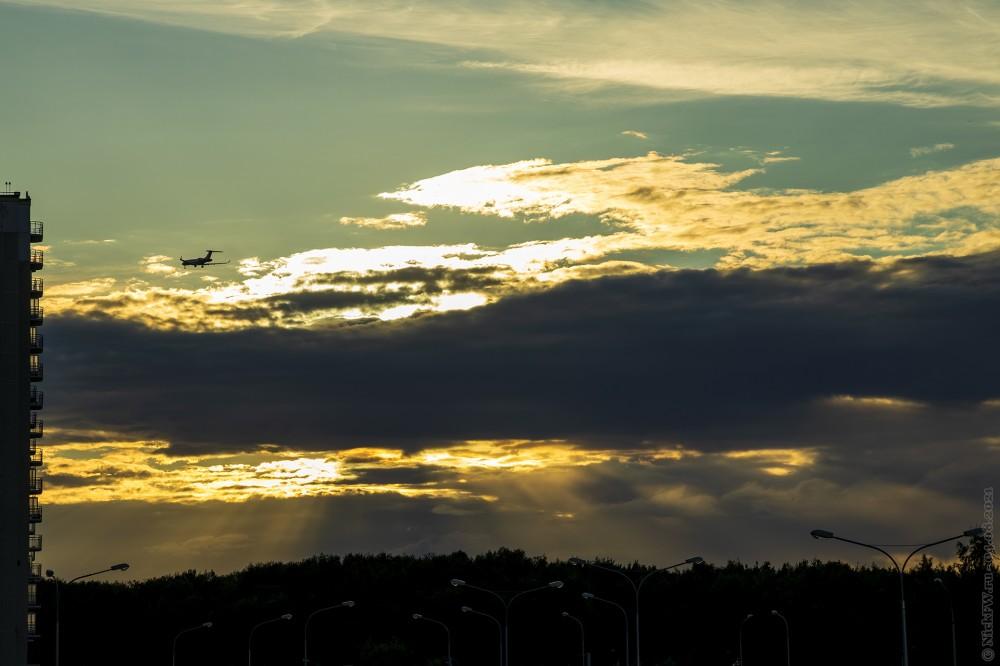 Очередной закат... © NickFW.ru — 04.08.2021г.