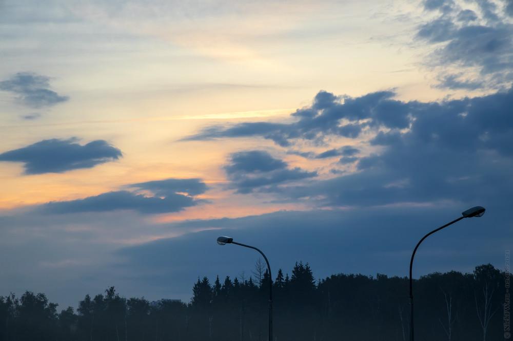 1. Предрассветное зарево... © NickFW.ru — 02.08.2021г.
