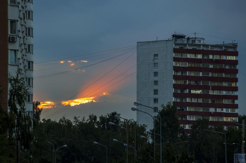 Закат в Московском © NickFW.ru — 28.08.2021г.