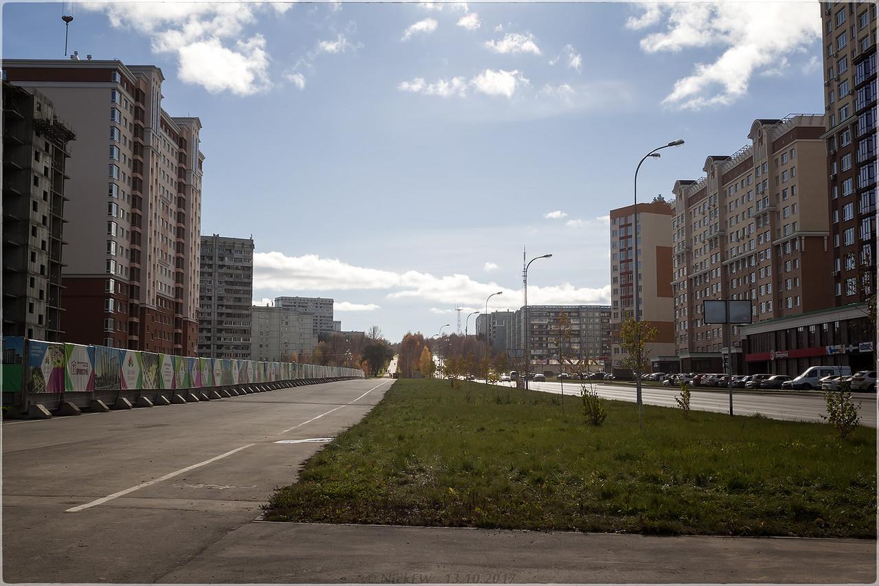 Волгоградская вид от Притомского [© NickFW - 13.10.2017]
