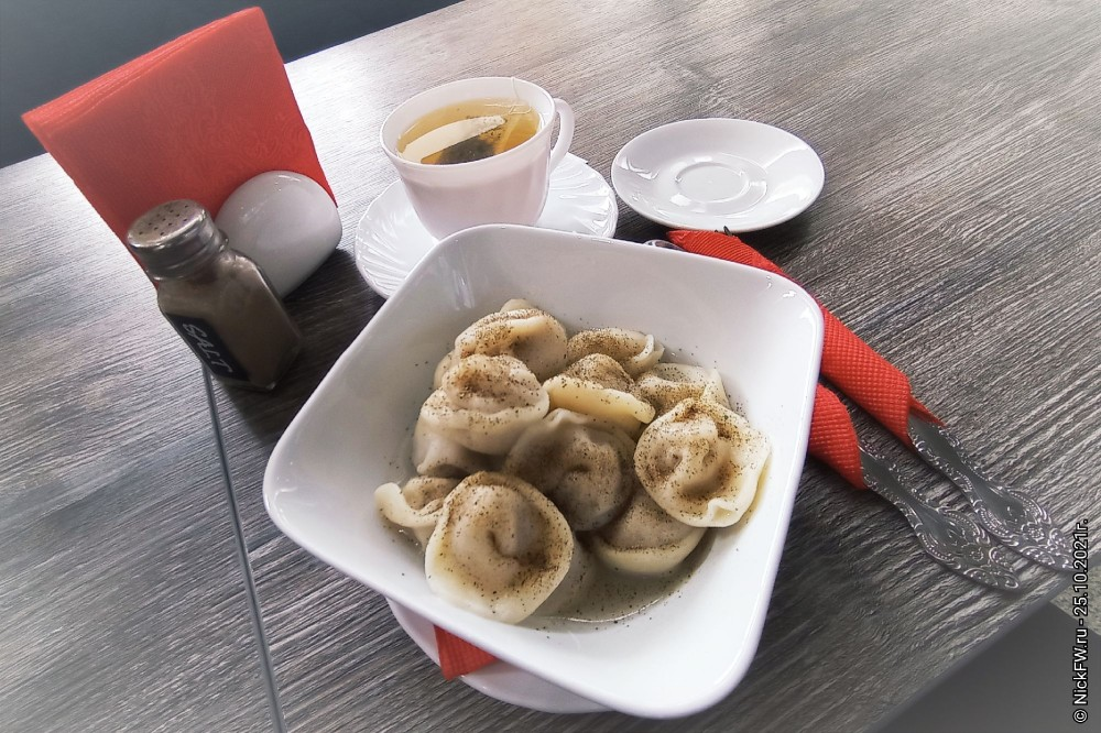 Завтрак в Чите... © NickFW.ru -25.10.2021г.