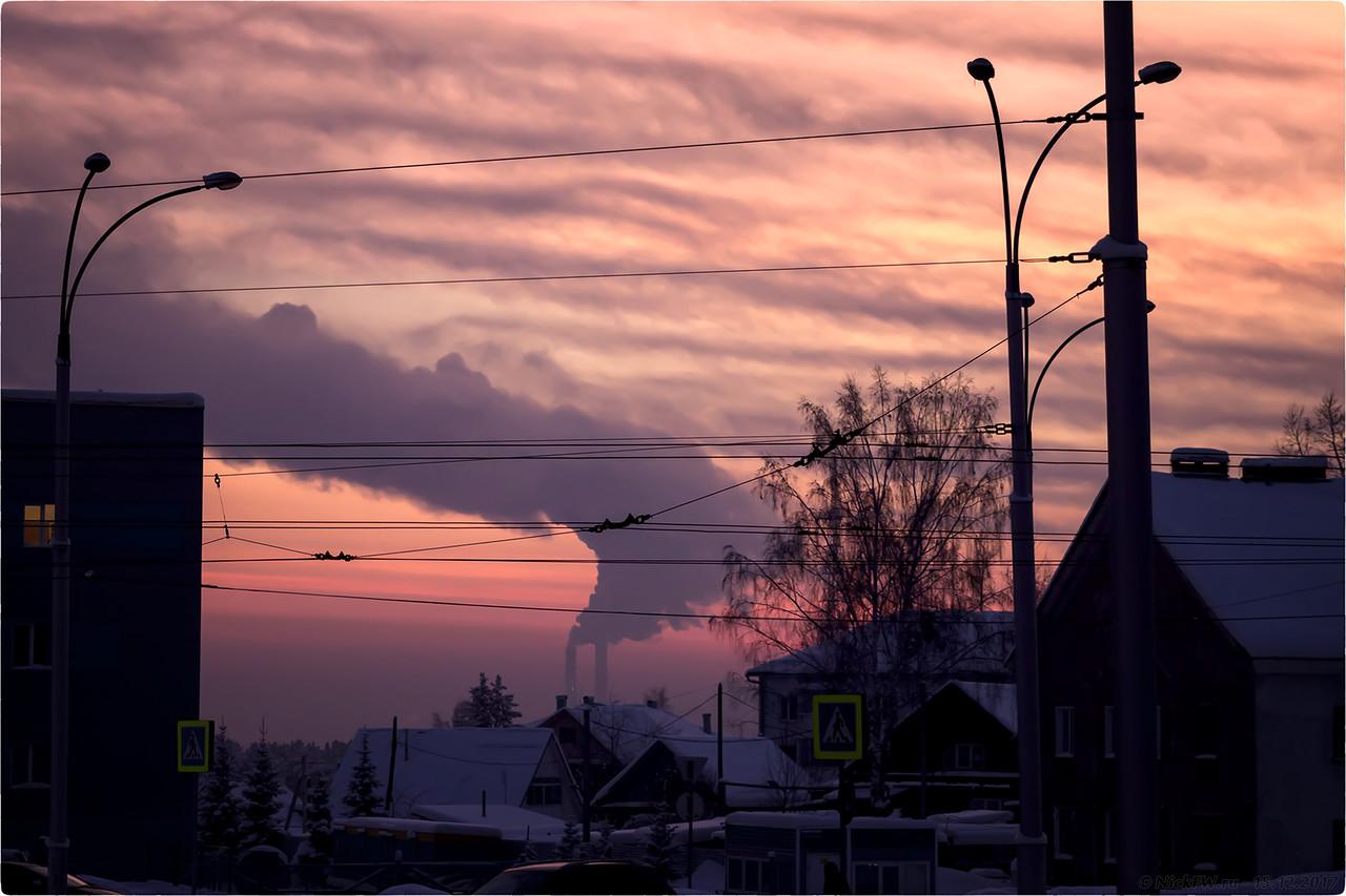 Трубы ГРЭС [© NickFW - 15.12.2017]