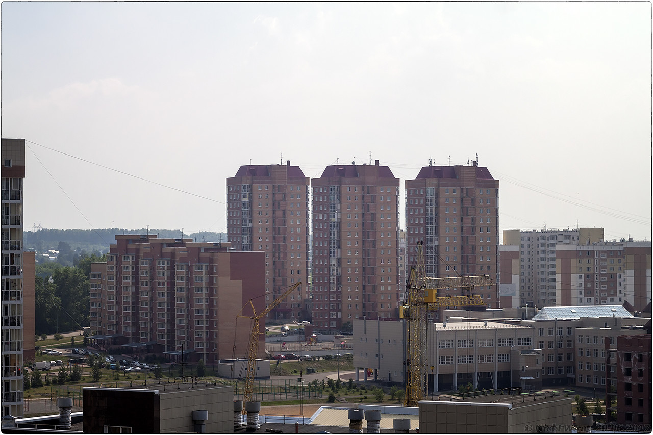 16-этажки ул.Дружбы 3... [© NickFW - 20.06.2017]