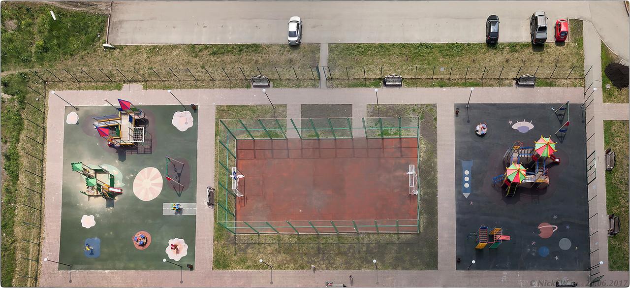 Детская площадка - ул.Космическая 24а [© NickFW - 20.06.2017]