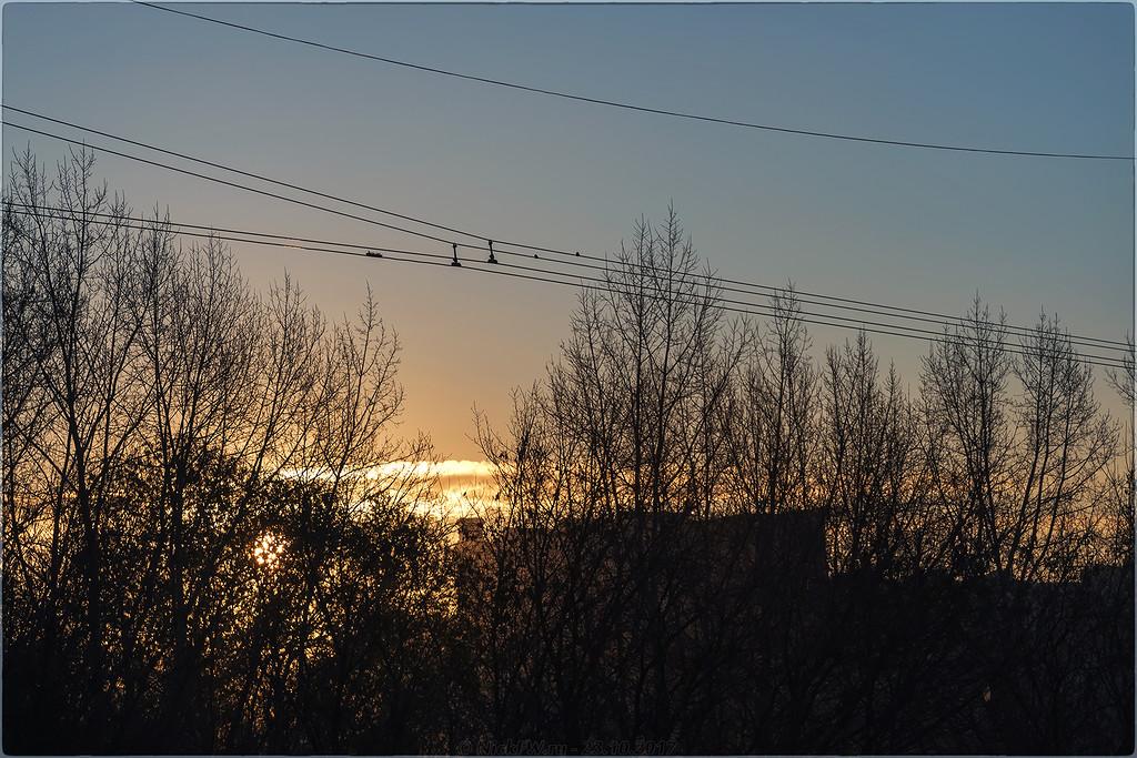 Рассвет над Притомским [© NickFW - 23.10.2017]