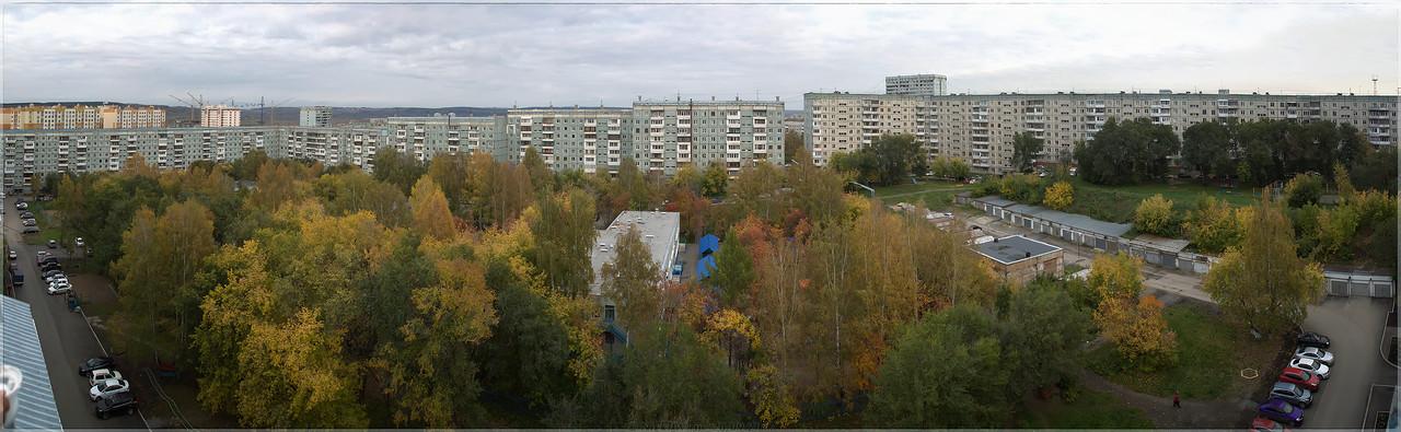 Старые дворы - панорама [© NickFW - 26.09.2017]