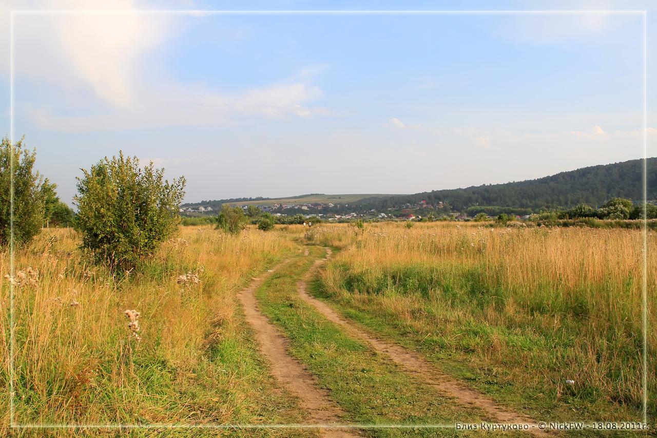 Полевая дорога близ Куртуково (© NickFW - 18.08.2011)