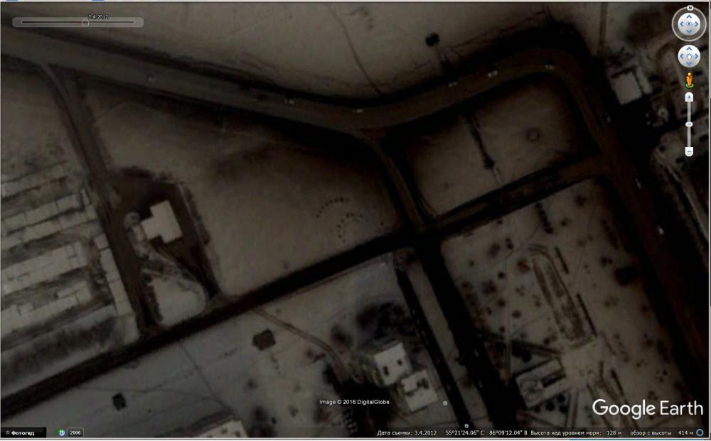 спутниковый снимок из Google Планета Земля от 04.03.2012