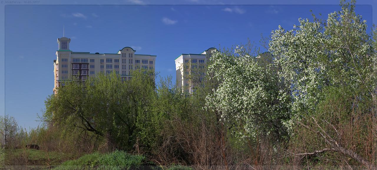 Панорама ЖК Притомский (© NickFW - 16.05.2017)