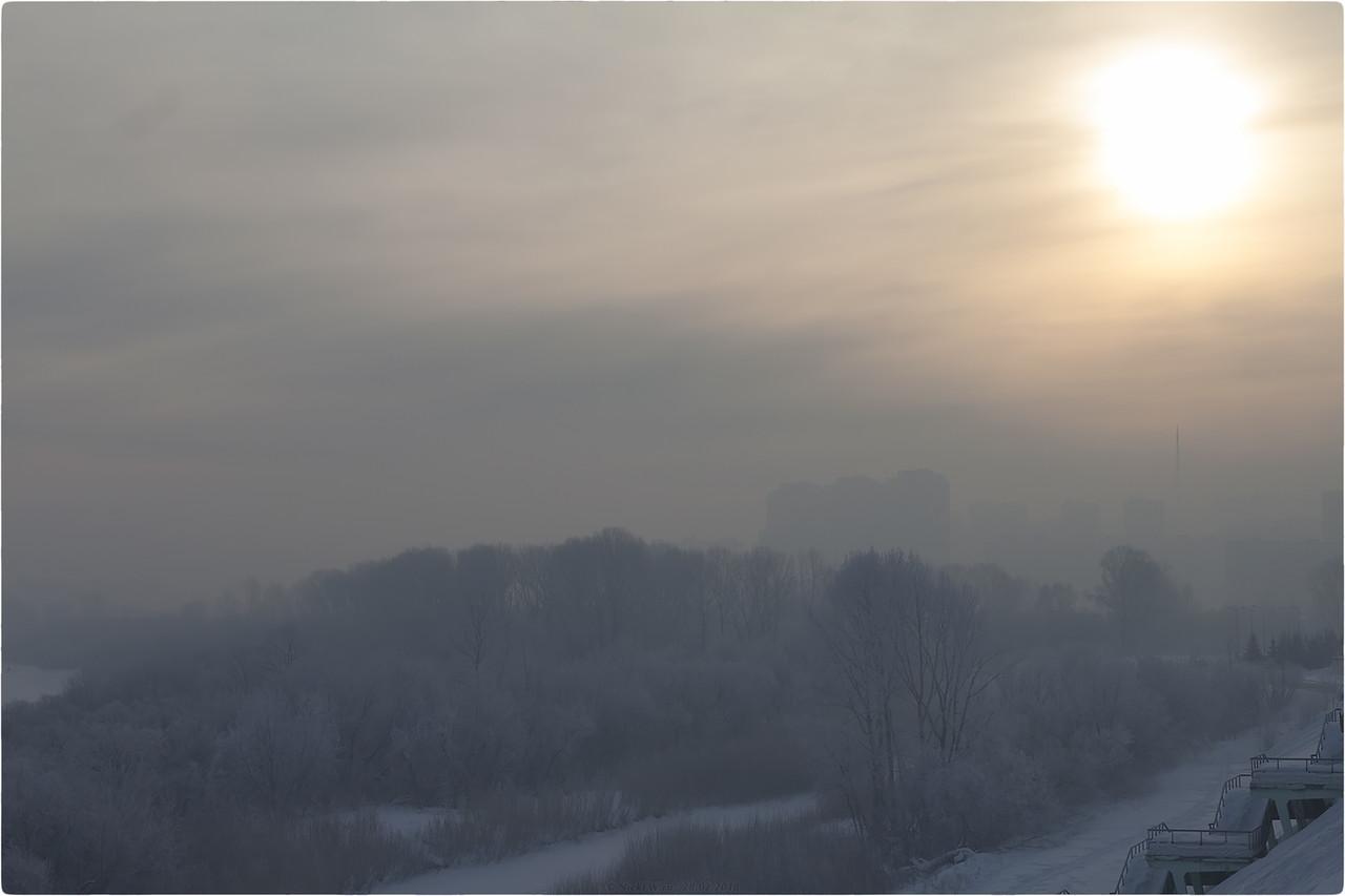 Рассвет над Томью [© NickFW.ru - 28.02.2018]