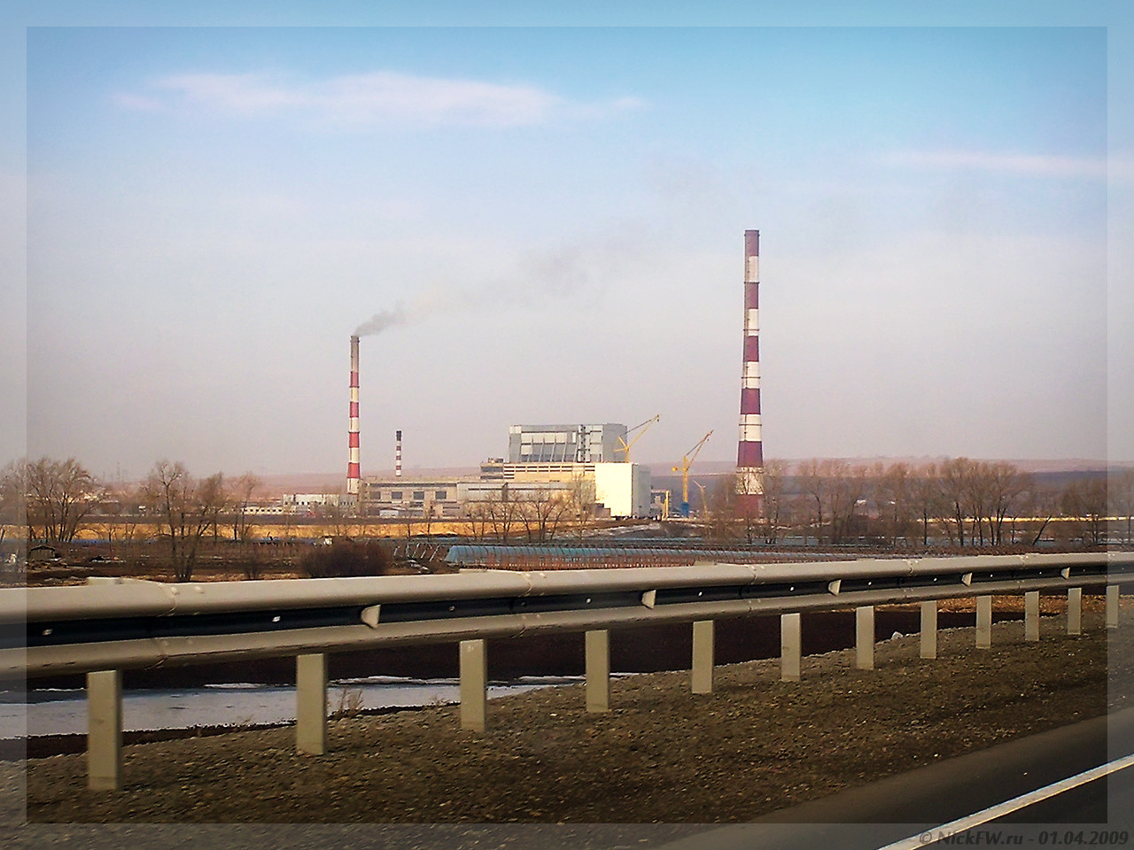 Красноярская ТЭЦ-3 (© NickFW - 01.04.2009)