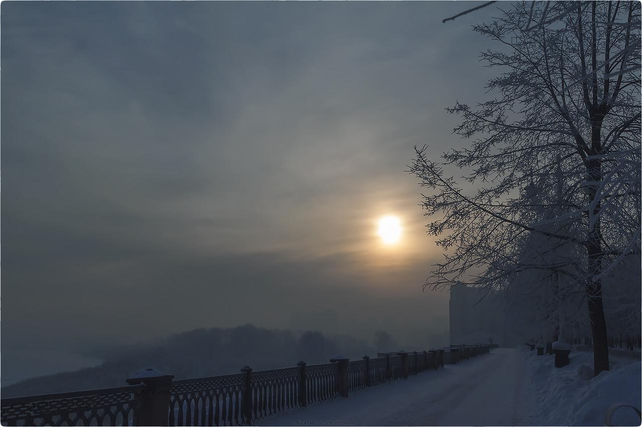 Рассвет на Набережной [© NickFW.ru - 28.02.2018]