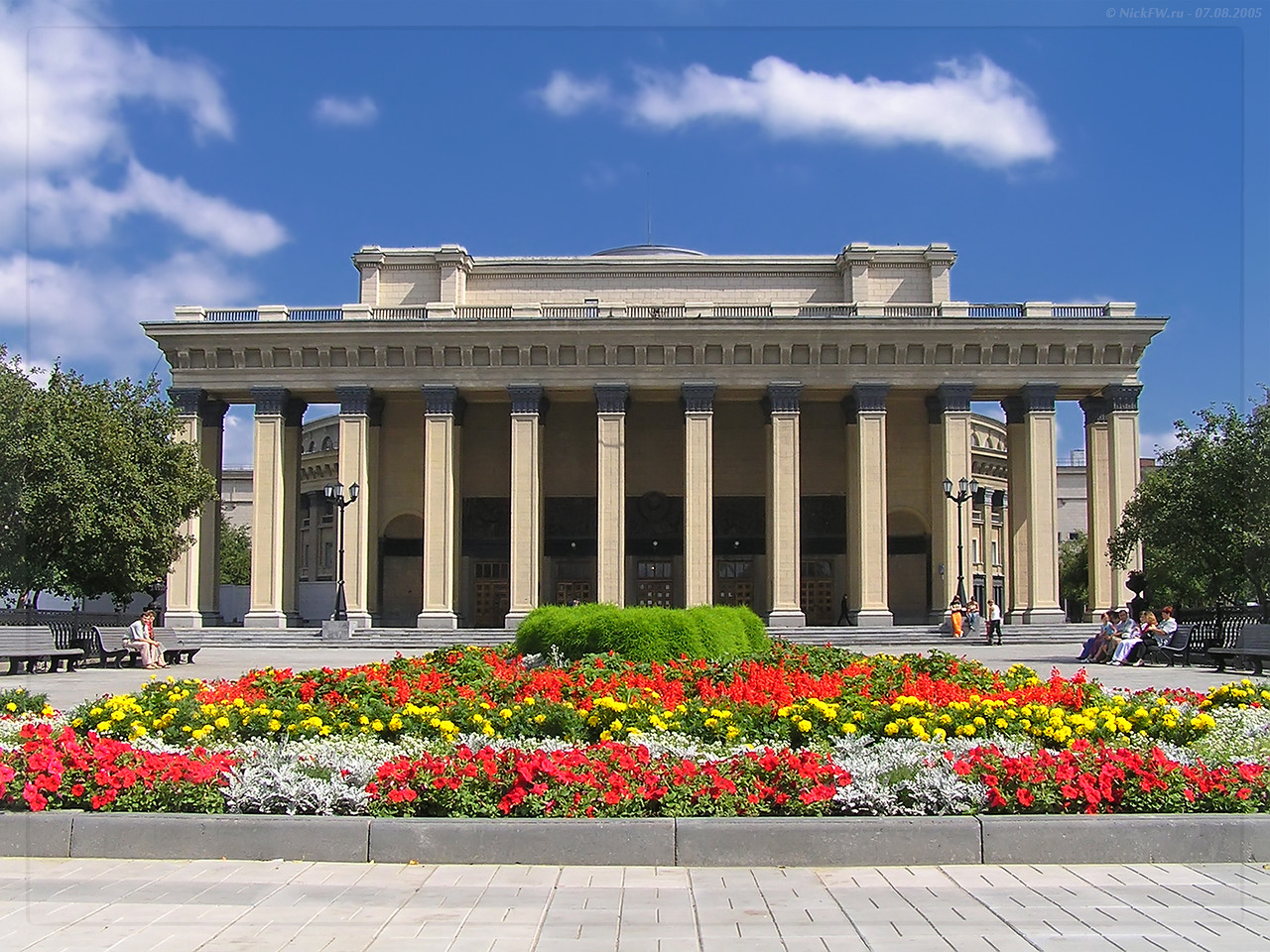 Новосибирский театр оперы и балета (© NickFW - 07.08.2005)