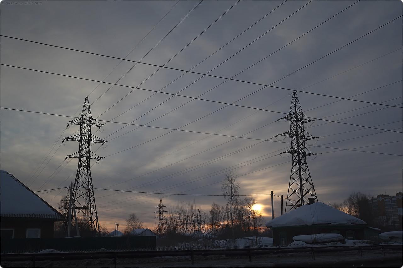 Рассвет на улице Линейная [© NickFW.ru - 28.02.2018]