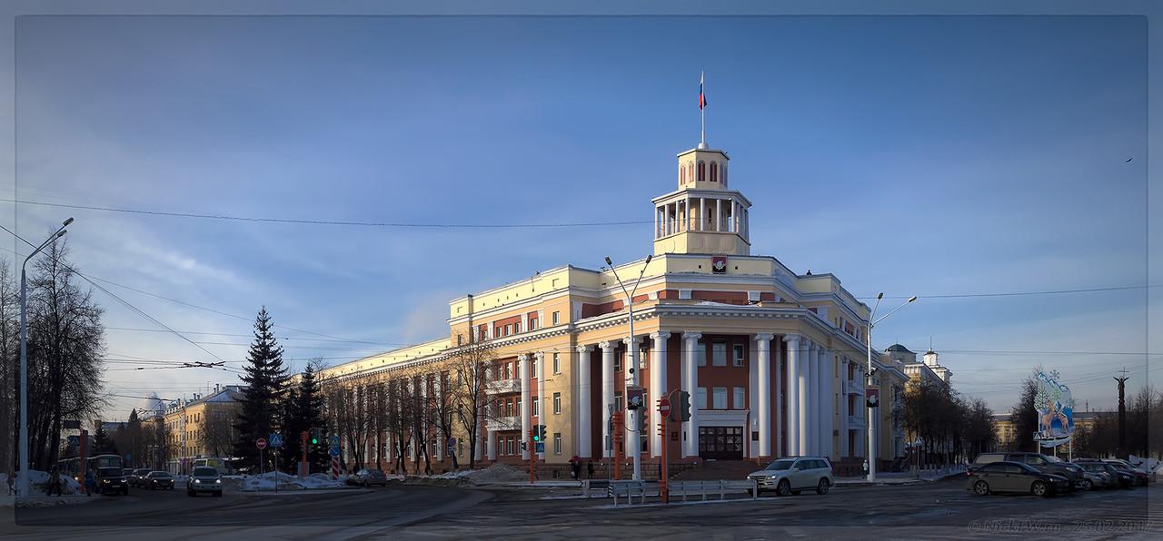 Панорама: Администрация города Кемерово (© NickFW - 25.02.2017)