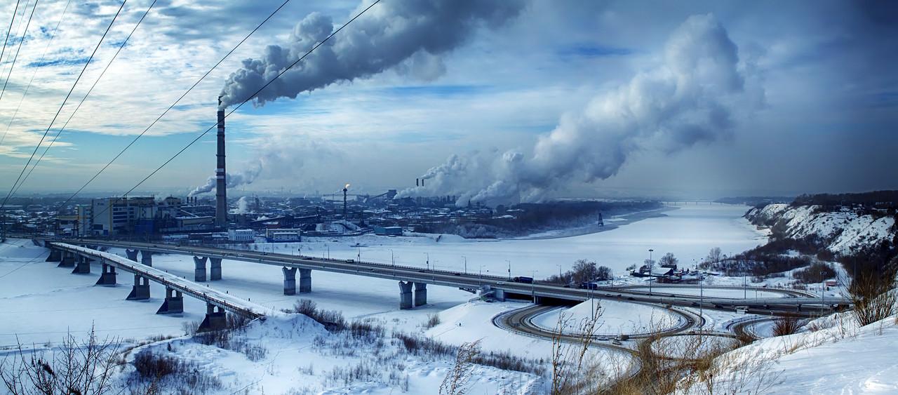 Панорама Кузнецкого моста - 2 (© NickFW - 31.01.2017)
