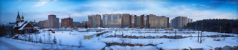 вид на пр.Кузбасский (© NickFW - 10.01.2017)