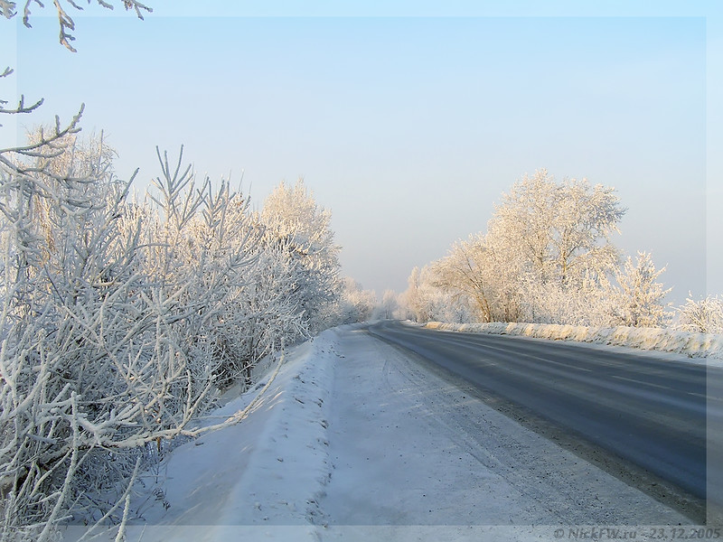 Дорога на Улус (© NickFW - 23.12.2005)
