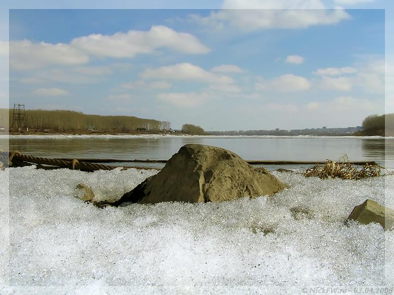 Трос и камень... (© NickFW - 03.04.2005)