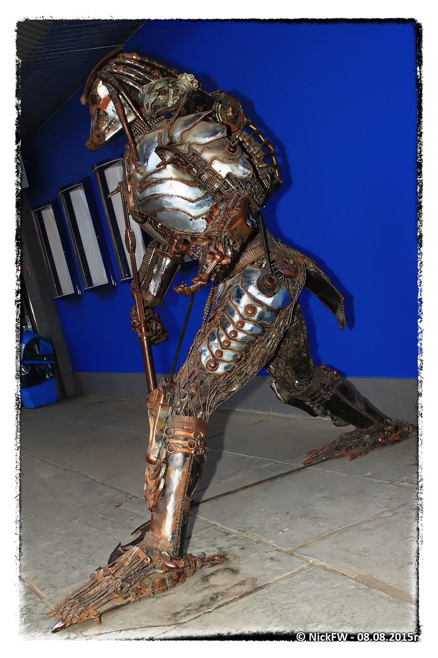 Скульптура Хищник (08.08.2014)