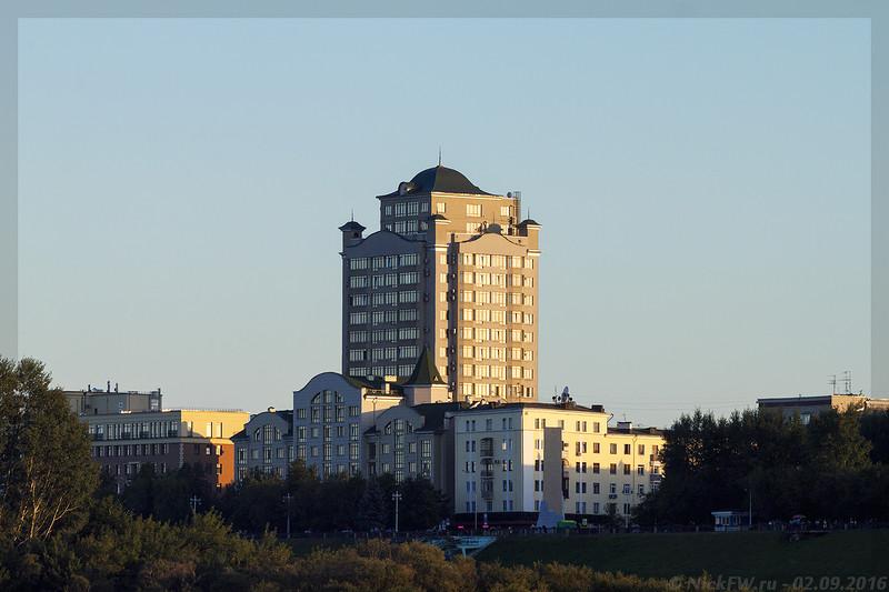 ЖК Томский Причал (©NickFW - 02.09.2016)