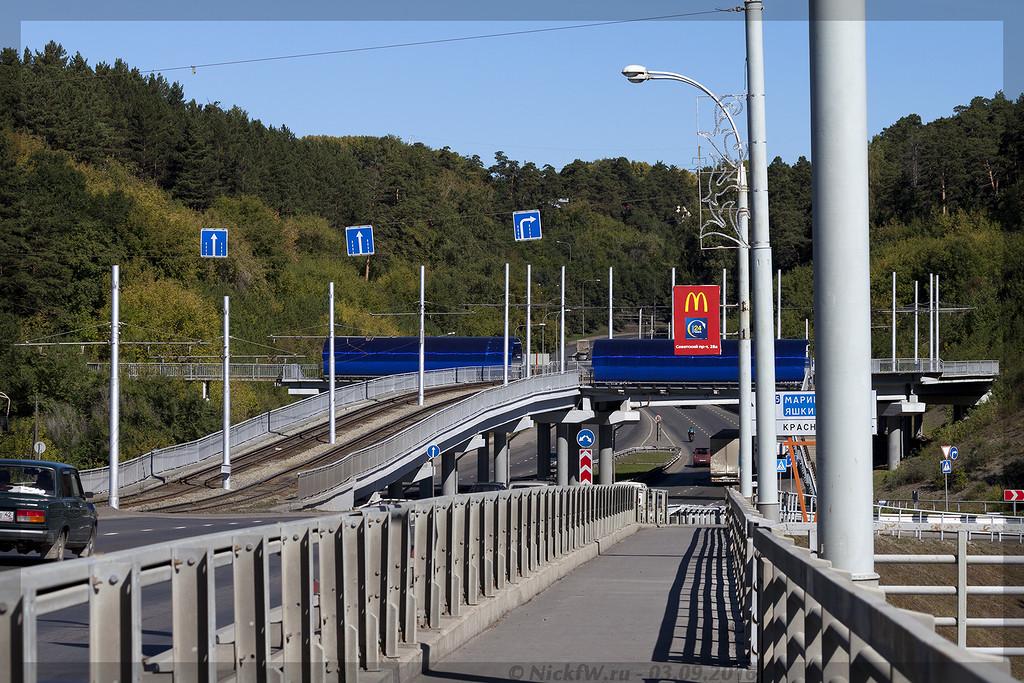 Трамвайная эстакада на Кузнецком мосту (© NickFW - 03.09.2016)