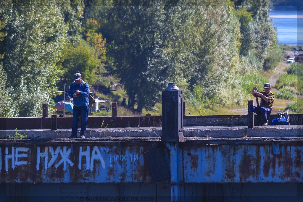Рыбаки на Старом Кузнецком мосту (© NickFW - 03.09.2016)