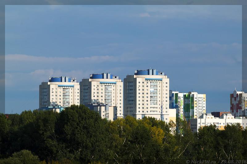 Кемеровские небоскрёбы (© NickFW - 29.08.2016)