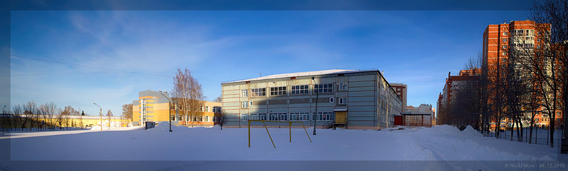 Панорама школы №34 (© NickFW - 04.12.2016)