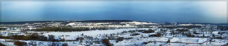 Панорама правого берега (© NickFW - 01.12.2016)
