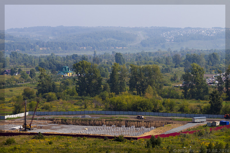 Стройплощадка Аквапарка (© NickFW - 15.08.2016)
