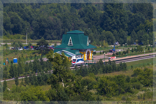 Детская железная дорога (© NickFW - 22.07.2016)