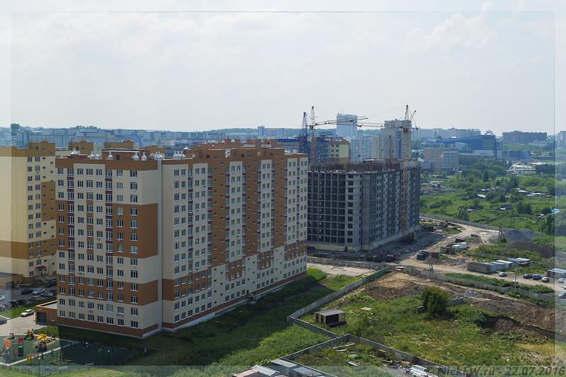 Микрорайон 15а Промстроевские 13 этажки (© NickFW - 22.07.2016)
