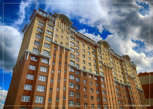Волгоградская дом №1 вид со двора (05.08.2015)