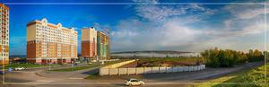 Панорама микрорайона 15а и территории микрорайона 16а (© NickFW - 08.09.2015)