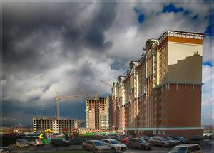 15а жилой комплекс В вид со двора (© NickFW - 23.10.2015)