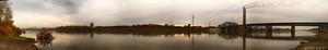 Панорама Томи (© NickFW - 11.10.2015 - Кемерово)